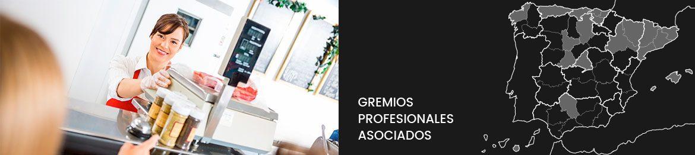 Gremios profesionales asociados